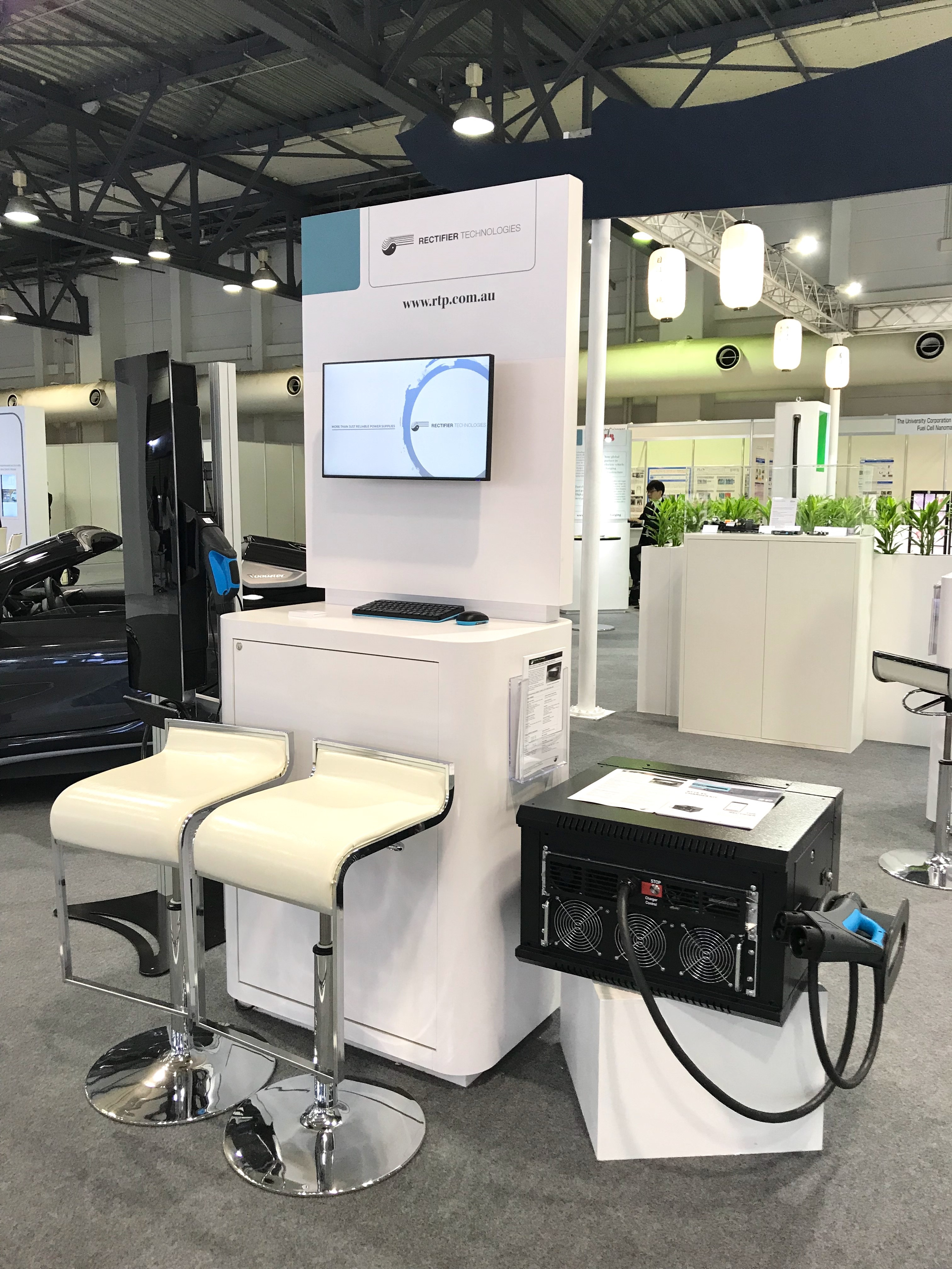 EVS31 Rectifier Technologies Booth